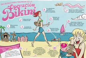 Cómo triunfar en la operación bikini